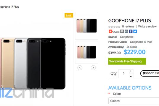 goophone i7 plus iphone 7 plus clone