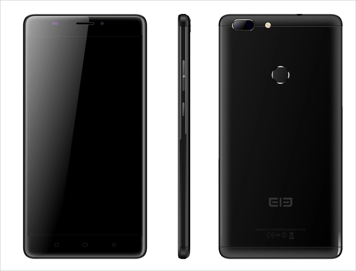 Elephone supersize with the dual camera Elephone Max