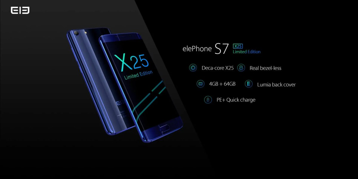 "Elephone S7 ""Treasure"" Edition announced with Helio X25"