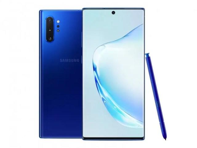 Blue Samsung Galaxy Note 10 Plus