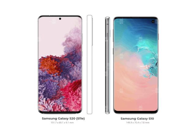 Samsung Galaxy S20 vs Galaxy S10