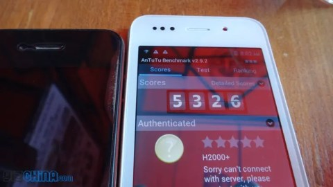 hero h2000+ iPhone 5 clone antutu