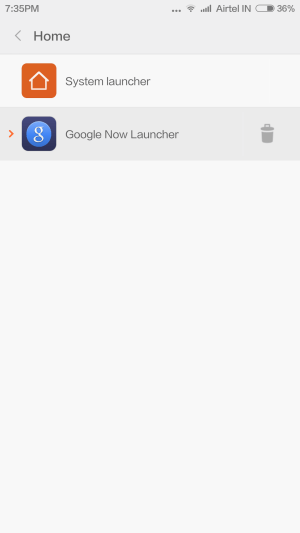 Screenshot 2014 09 12 19 35 57 576x1024 How to: Use Google Now launcher or any 3rd party launcher on MIUI 6 (and more)