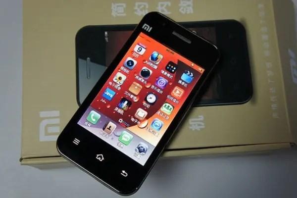 Xiaomi Mi-One S screen