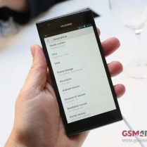 Huawei Ascend P2 hands on