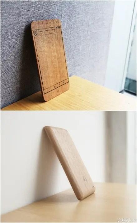 meizu mx3 wooden mockup