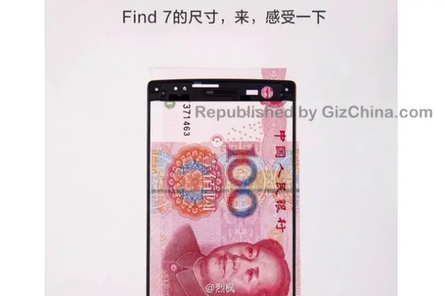 oppo find 7 screen