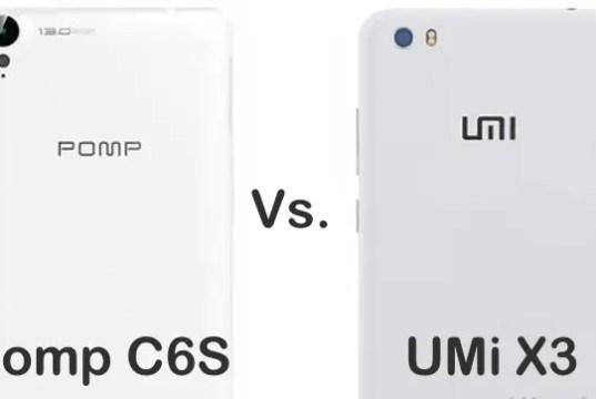 pomp c6s vs umi x3