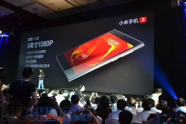 xiaomi mi3 screen