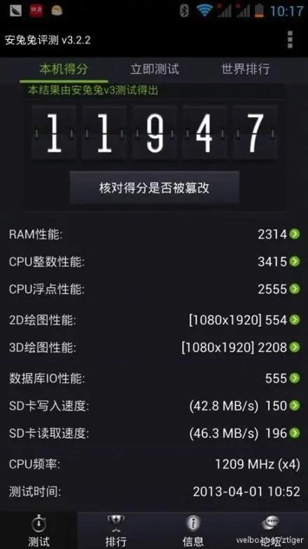 shanda bambook quad core benchmarks