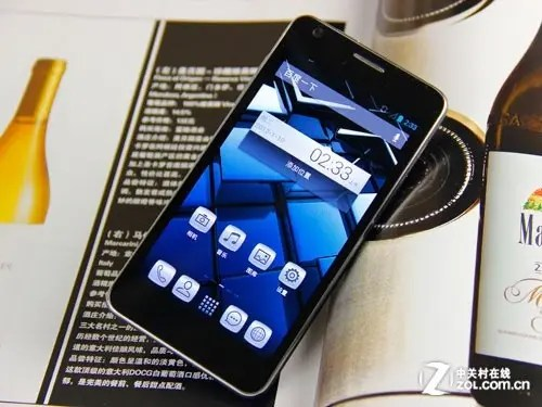 tcl s850 world thinnest phone amolded screen