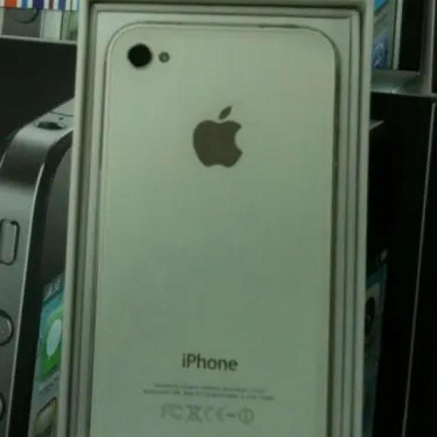 white iphone 4 grey market china