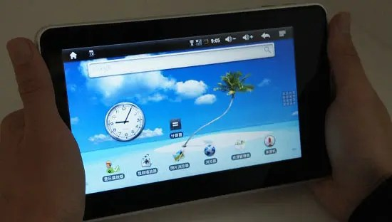 Wopad 7 inch Android Tablet Video Review
