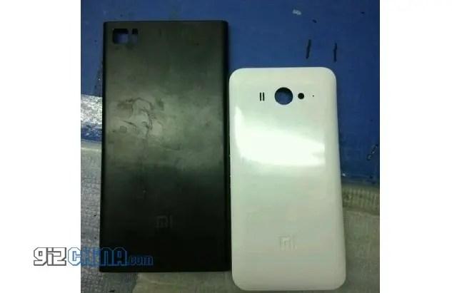 xiaomi mi3 leaked rear case