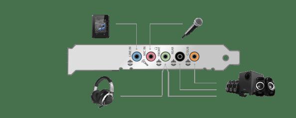 Sonido 5.1 y dos entradas de audio independientes, suficiente para casi cualquier usuario.