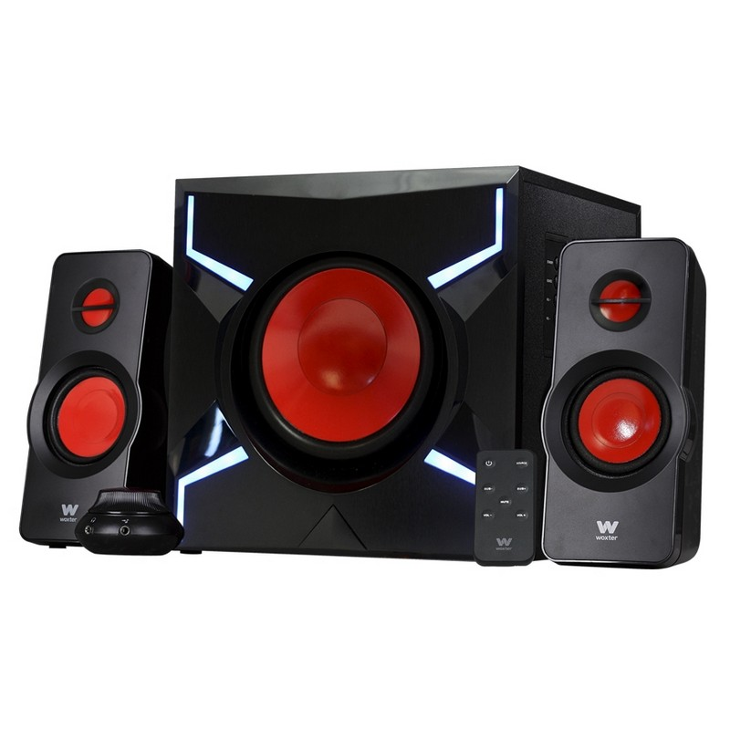 Woxter Big Bass 260 FX, altavoces gaming 2.1 con LED
