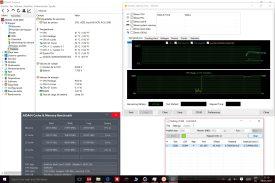 Rendimiento del sistema de memoria, potencia bruta y rendimiento el SSD.