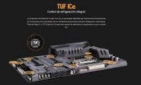 La Asus TUF Z270 Mark 1 integra TUF Ice, un procesador dedicado para monitorizar y controlar las temperaturas