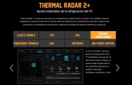 Con Thermal Radar 2+ podremos ajustar al máximo la ventilación del equipo.