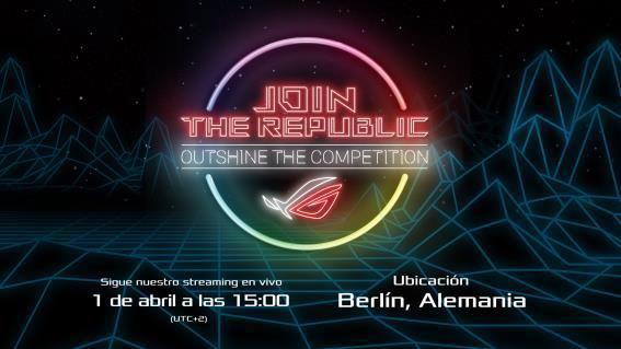ASUS Republic of Gamers presenta los eventos de gaming: Join the Republic: Outshine Competition
