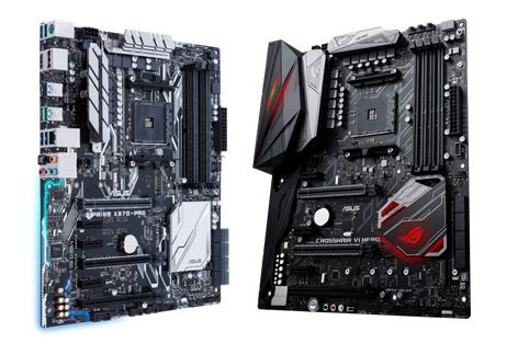 ASUS AM4 para procesadores AMD Ryzen, nuevas series de placas base