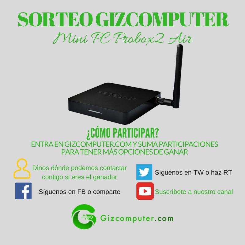 SORTEO: Probox2 Air, un miniPC con Android [FINALIZADO]