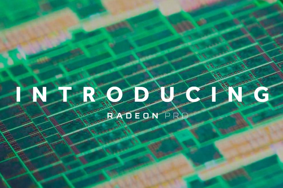 Las nuevas Radeon Pro 500 de AMD