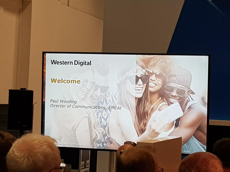#IFA17: Presentación de Western Digital