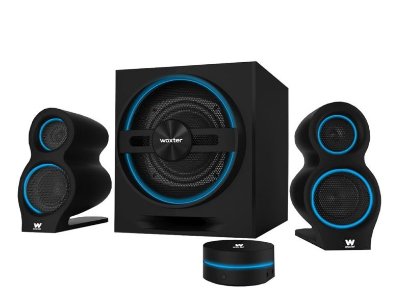 Woxter Big Bass 500, sistema de altavoces con un diseño gaming total