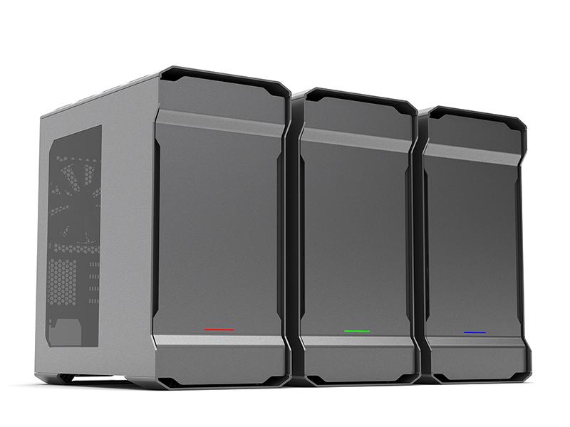 Phanteks Enthoo Evolv mATX, caja elegante y amplias posibilidades