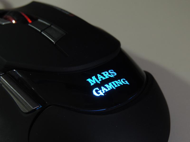 Mars Gaming MM3, jugamos con este ratón de 16400 DPI