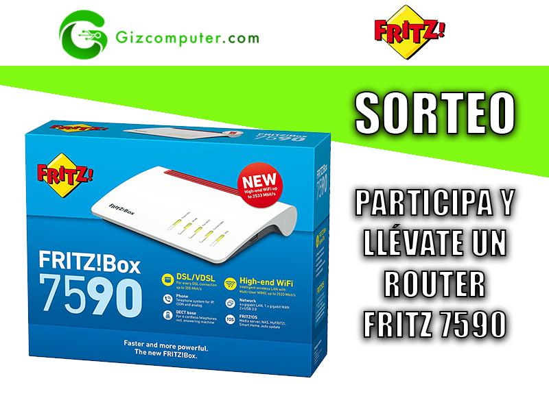 Sorteo: Participa y gana un router Fritz 7590