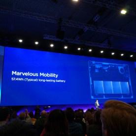 Huawei MateBook X Pro, batería