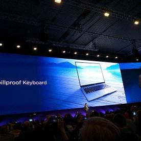 Huawei MateBook X Pro, resistente a las salpicaduras