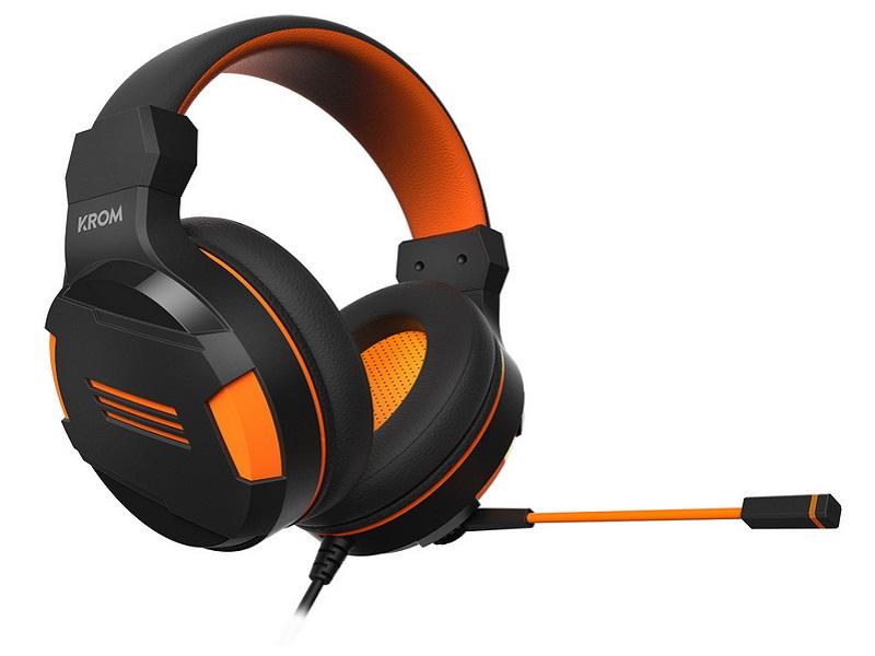 Krom Kendo, los auriculares gaming low-cost que estabas esperando