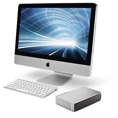 Lacie Porsche Design Desktop Drive serieSTEW