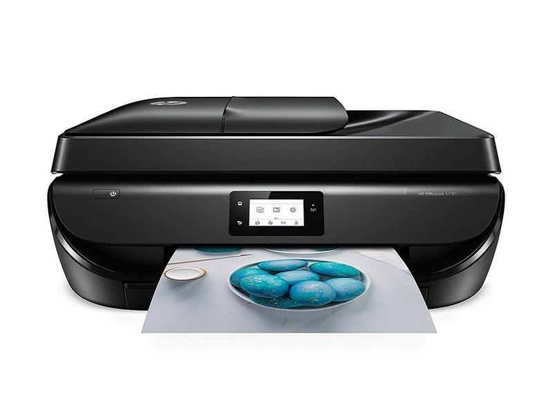 HP OfficeJet 5230, una impresora con fax e impresión automática