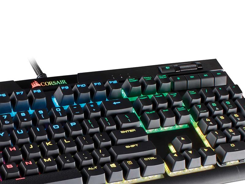 K70 RGB MK.2 y STRAFE RGB MK.2, nuevos teclados gaming de CORSAIR