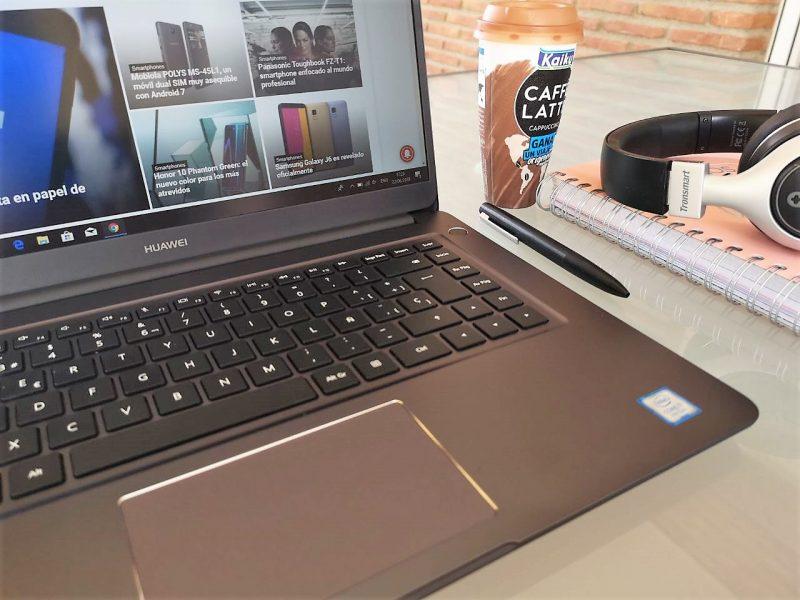 Huawei Matebook D: las 15.6″ más cómodas en movilidad