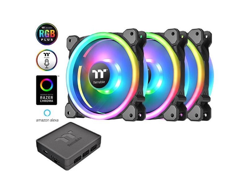 Nuevos ventiladores Thermaltake Riing Trio 12 LED RGB