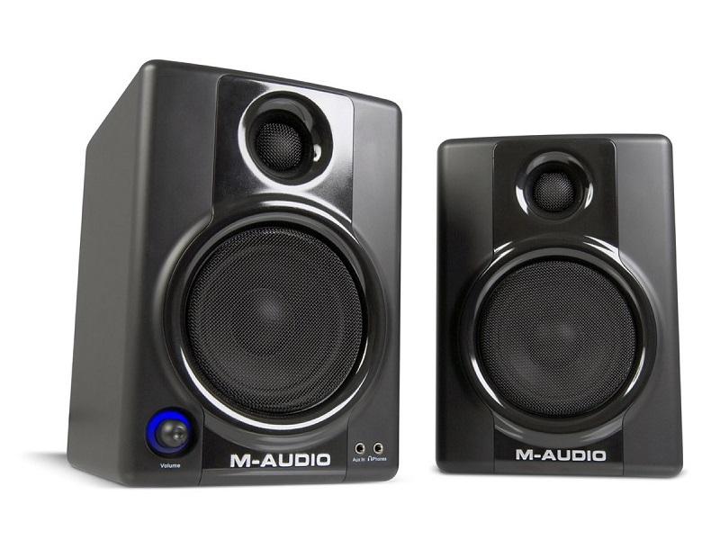 M-Audio AV40, altavoces profesionales para tu hogar