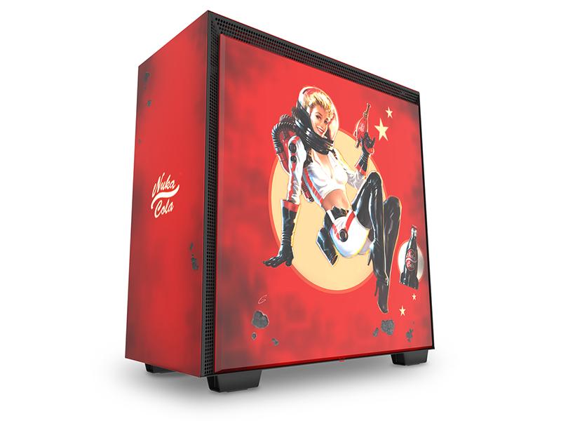 Si eres fan del Fallout, la NZXT H700 Nuka-Cola es tu caja de PC