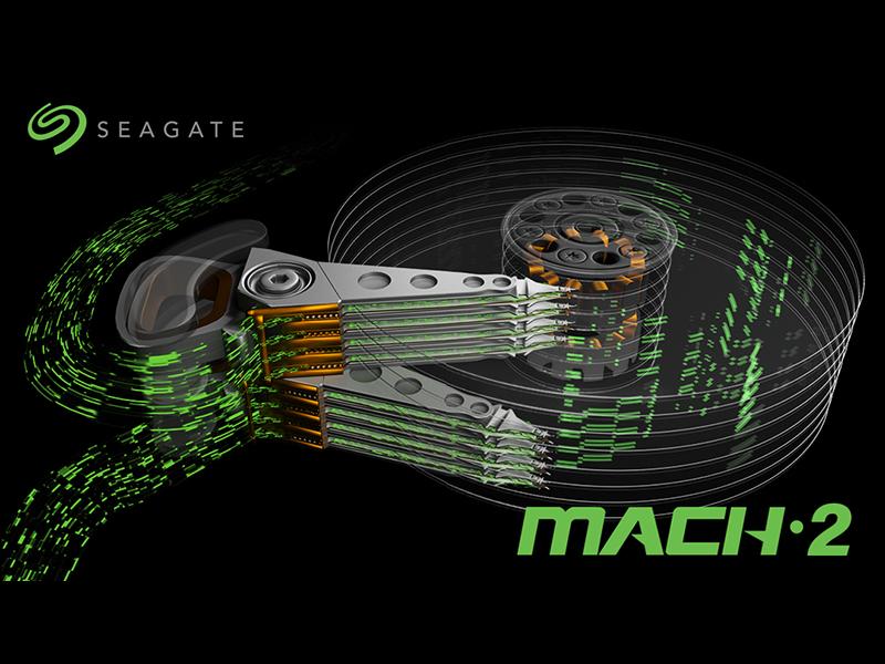 Seagate MACH.2 Multi Actuator, para aumentar la velocidad de los HD mecánicos