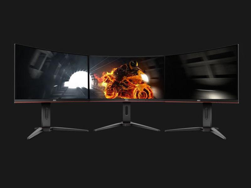 Nuevos monitores curvos AOC G1