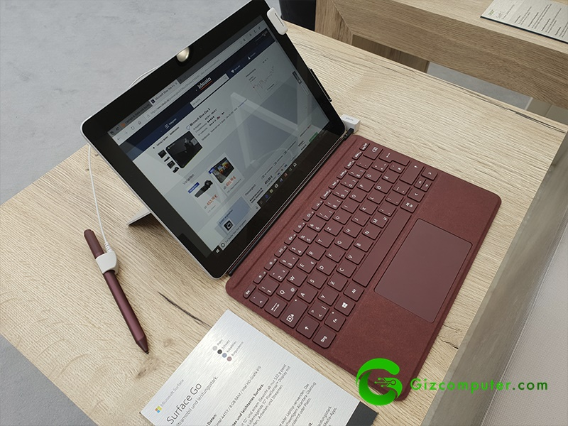 #IFA18: Microsoft Surface Go, ahora en tamaño mini