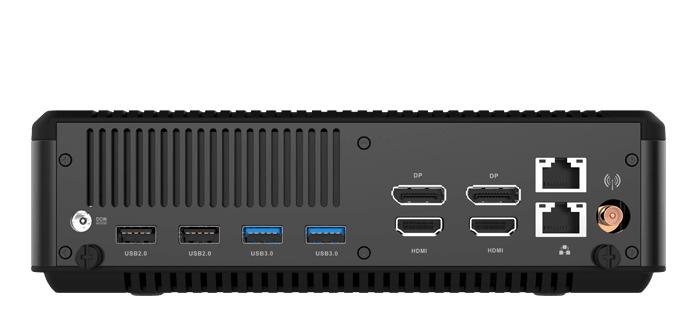 Zotac ZBOX MAGNUS EN51050, conectividad
