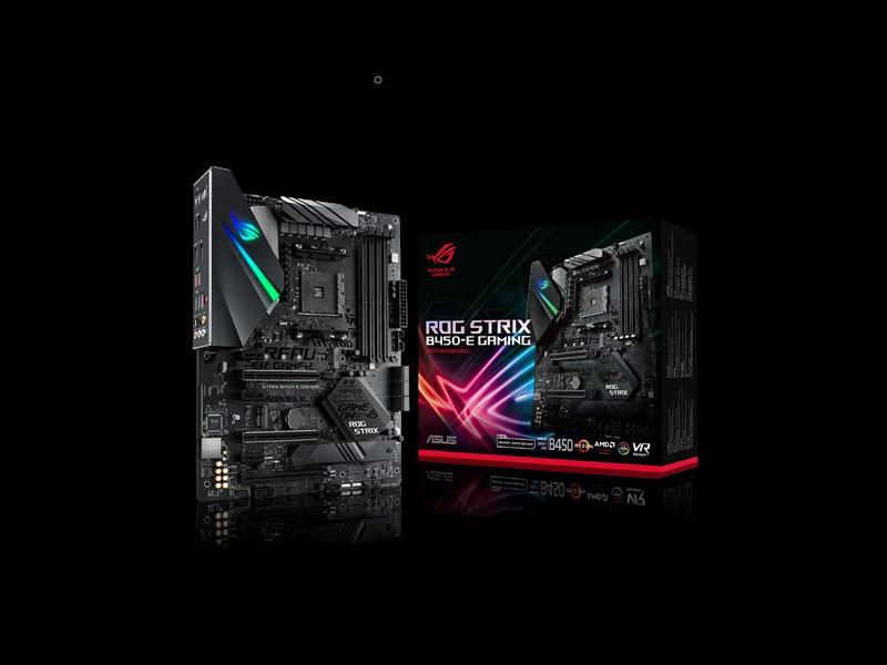 Nueva placa base Asus ROG Strix B450-E Gaming para Ryzen de AMD