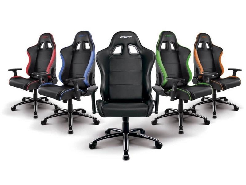 Drift DR200, una silla gaming con materiales premium