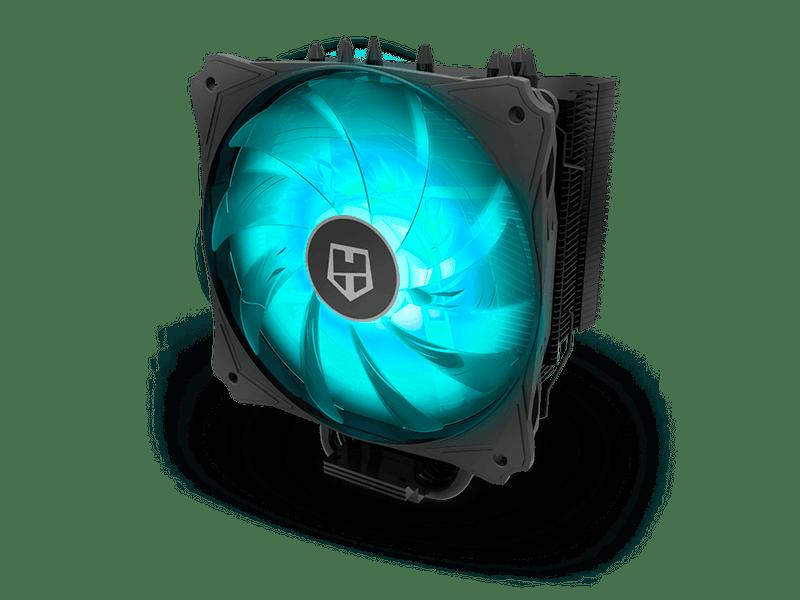 Presentado el cooler Hummer H-214RGB de Nox