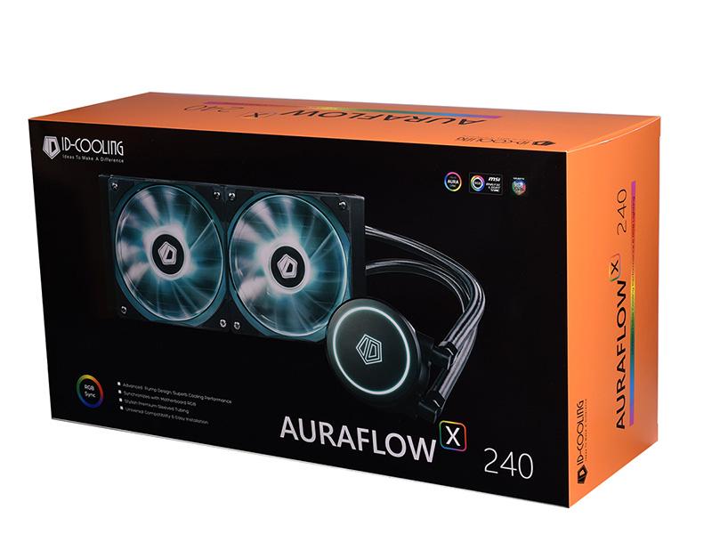 Nuevo kit ID-Cooling Auraflow X 240, alto poder de disipación térmica